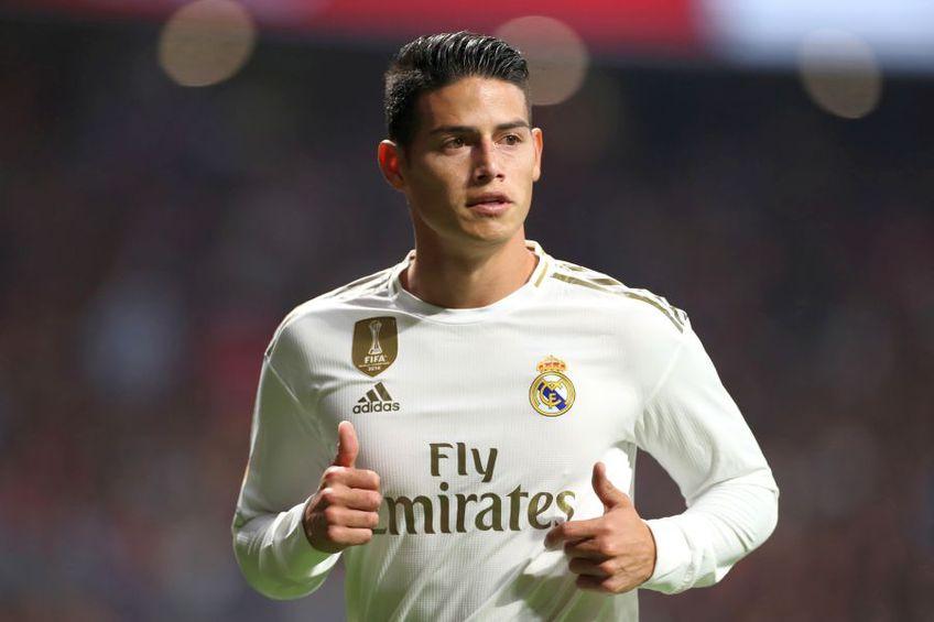 James Rodriguez ar putea părăsi Real Madrid în această vară // foto: Guliver/gettyimages