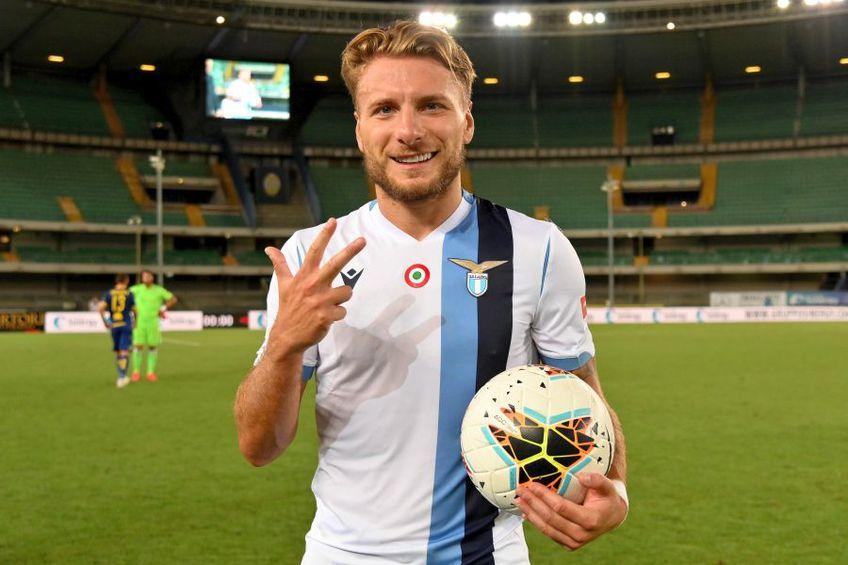 Ciro Immobile a marcat 34 de goluri în acest sezon de Serie A // foto: Guliver/gettyimages