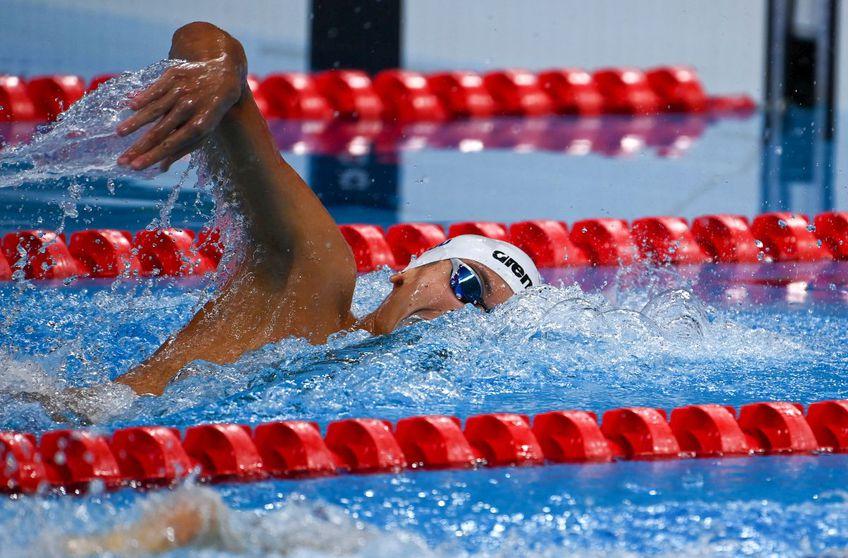 David Popovici e în finala de la Jocurile Olimpice // FOTO: Raed Krishan