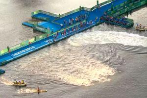 Moment ciudat la Jocurile Olimpice » Jumătate dintre sportivi au ratat startul în proba de triatlon! România a fost reprezentată de Felix Duchampt