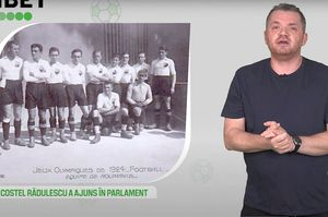 5 minute de sport olimpic – Fotbalul la JO Paris 1924