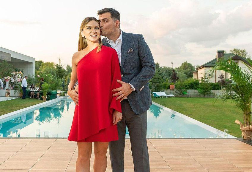 Simona Halep și logodnicul ei, Toni Iuruc
