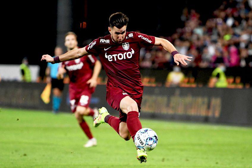 Adrian Păun, CFR Cluj // foto: Imago