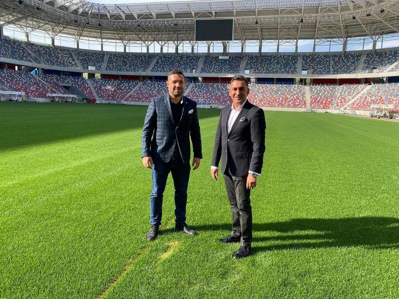 FOTO CSA STEAUA. Ilie Dumitrescu la stadionul Ghencea 26.09.2020
