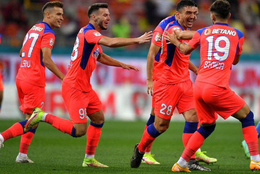 Andrei Cordea a impresionat de la primele meciuri jucate în tricoul roș-albaștrilor / foto: GSP