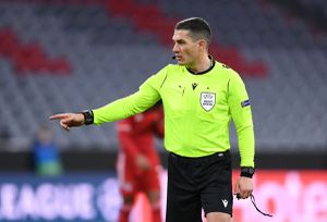 Istvan Kovacs, delegat în Liga Campionilor » Partida pe care o va conduce arbitrul român + Hațegan, doar arbitru VAR