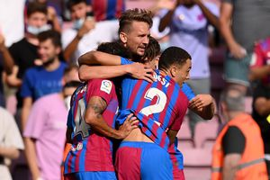 Barcelona - Levante » Două goluri marcate în prima repriză