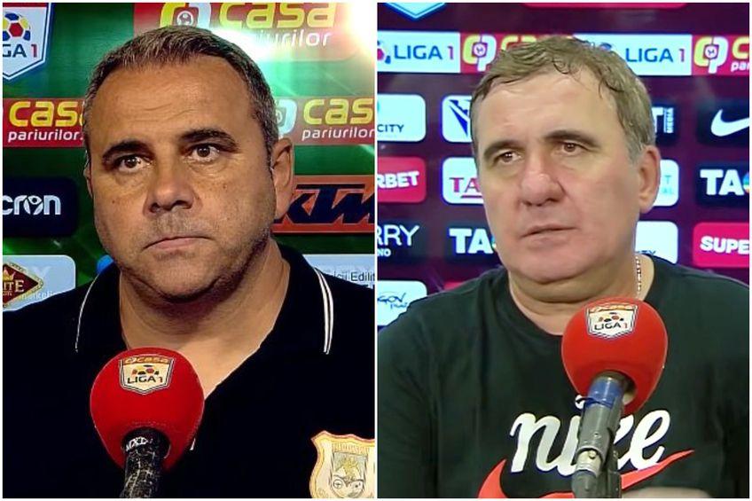 Gică Hagi și Alexandru Pelici // foto: capturi YouTube