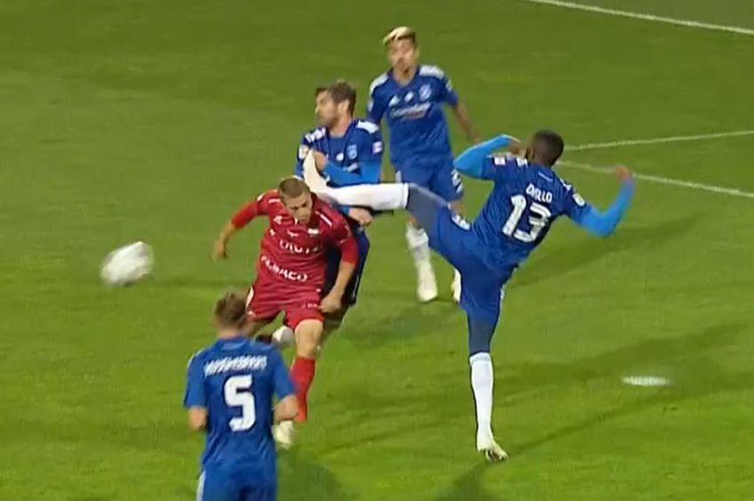 În minutul 72 al meciului FC Botoșani - FCU Craiova, la 1-0 pentru olteni, moldovenii ar fi trebuit să beneficieze de o lovitură de la 11 metri.
