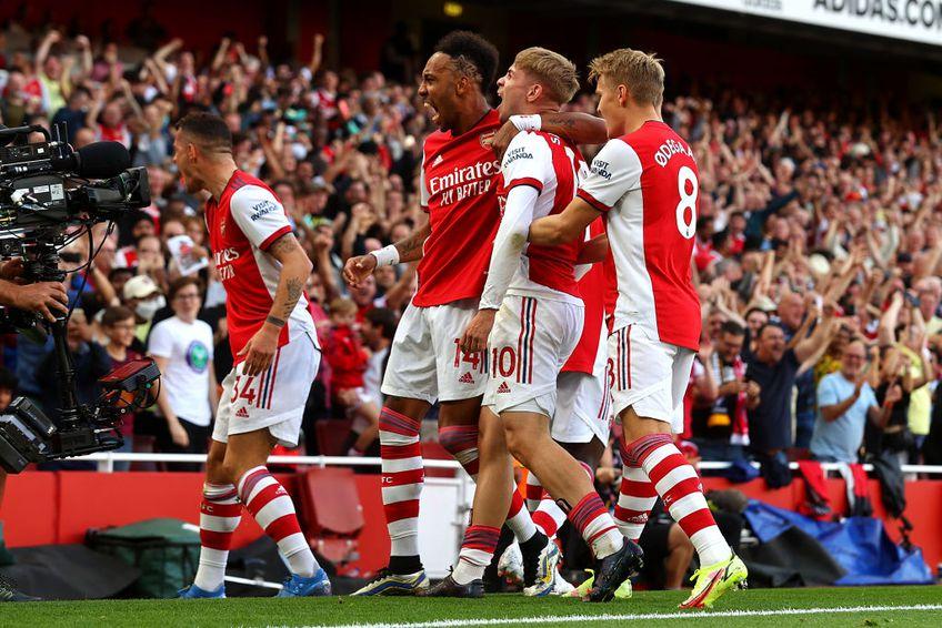 """Arsenal a învins-o pe Tottenham, scor 3-1, în primul episod al """"Derby-ului nordului Londrei"""" din acest sezon."""
