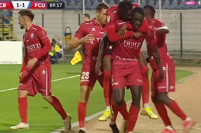 FC Botoșani - FCU Craiova // foto: captură DigiSport
