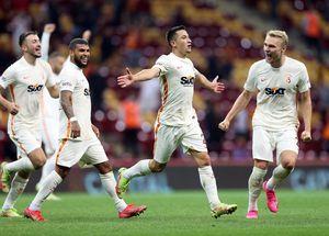 Primul gol al lui Olimpiu Moruțan la Galatasaray, o bijuterie! Cicâldău i-a pasat decisiv