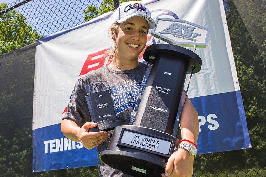 Jessica Livianu a avut numeroase realizări în competițiile între universități / Sursă foto: redstormsports.com