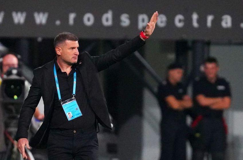 CFR Cluj a câștigat în deplasare la UTA, scor 1-0. Laszlo Balint, antrenorul arădenilor, consideră că formația sa și-a dominat copios adversarul.