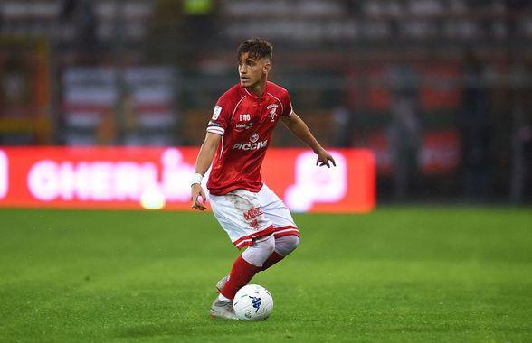 """VIDEO Vlad Dragomir, gol superb în Italia! A adus victoria pentru Perugia cu o """"rachetă"""" din afara careului"""