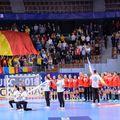 Naționala României  înaintea unui meci de la CE 2018 FOTO Dan Potor