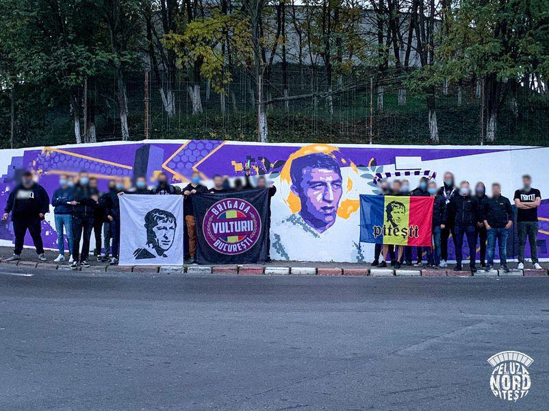 Fanii argeșeni, mesaj în memoria lui Dobrin