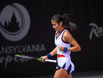 ACUM se joacă Emma Răducanu - Ana Bogdan, duelul-vedetă de la Transylvania Open ...