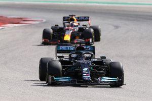 Luptă palpitantă pentru titlu în Formula 1 » Max Verstappen, avantajat de program cu 5 runde rămase în sezon