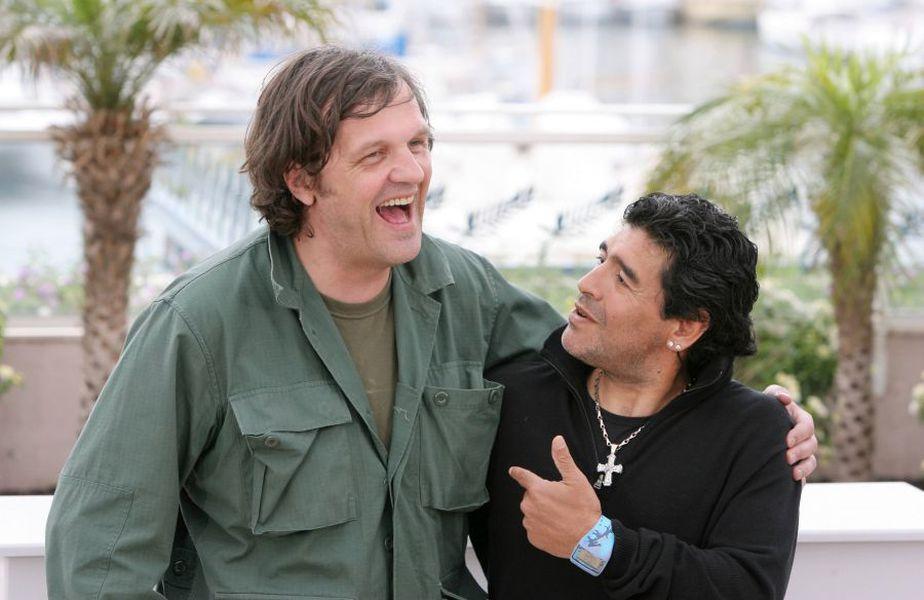 Diego Maradona, alături de regizorul Emir Kusturica // foto: Imago