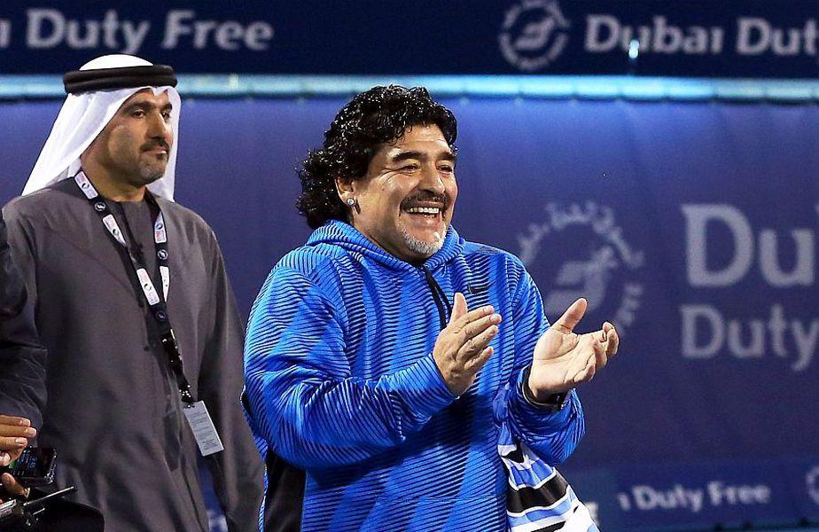 """Diego Maradona a murit miercuri, 25 noiembrie 2020, la doar 60 de ani. Mirel Rădoi, selecționerul României, a povestit un moment cu """"El Diez""""."""