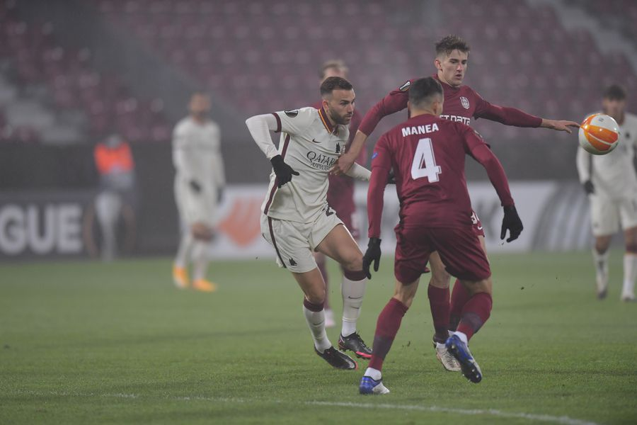 CFR Cluj - AS Roma - 26 nov. 2020