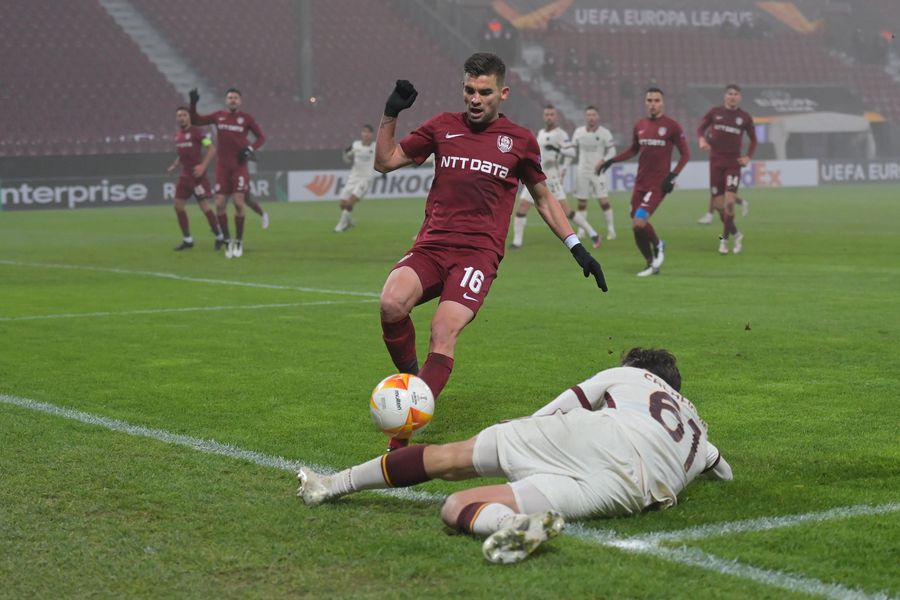 CFR Cluj - AS Roma - 26 nov. 2020