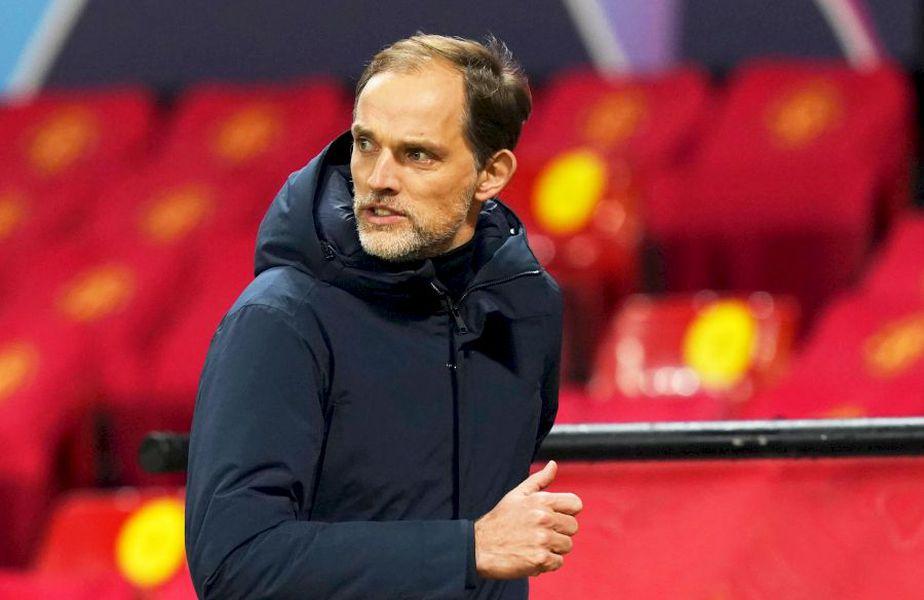 Neamțul Thomas Tuchel ar fi fost dat afară de PSG după ce a insistat ca jucătorii echipei franceze să termine pe teren meciul cu Bașakșehir din Liga Campionilor, foto: Imago