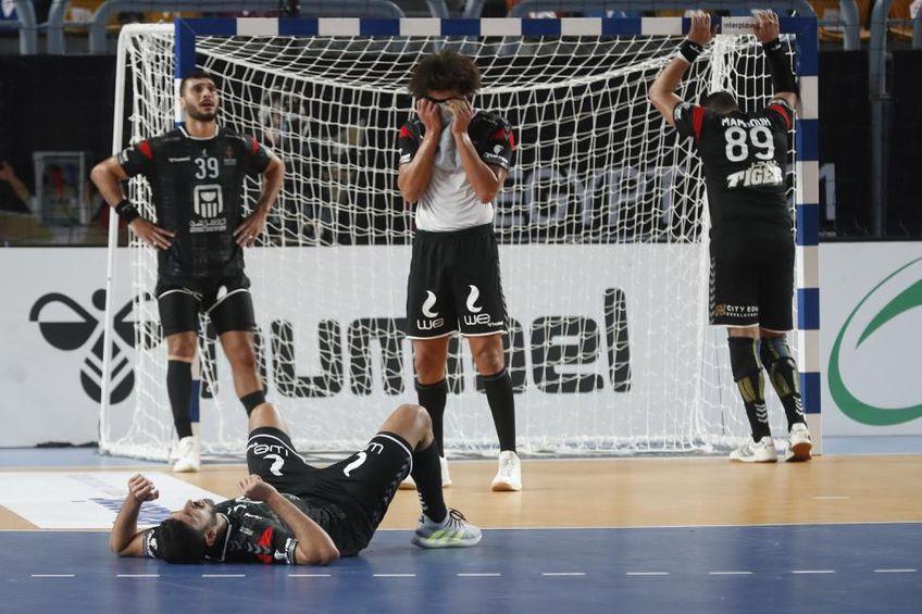 Egiptenii nu-și pot reveni la finalul meciului cu Danemarca FOTO IHF