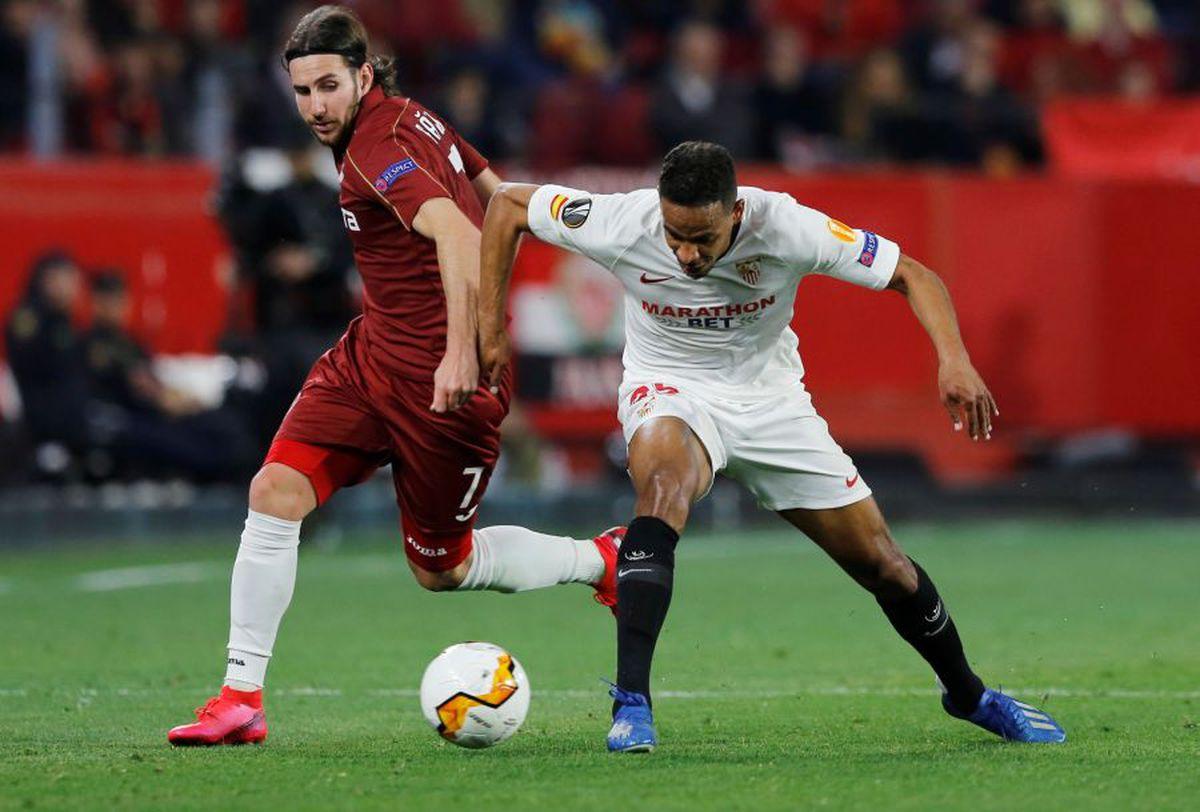 SEVILLA - CFR CLUJ 0-0. Echipa lui Dan Petrescu ratează calificarea în optimile Europa League