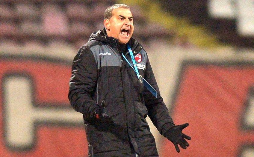 Jerry Gane, antrenorul lui Dinamo, neagă vehement afirmațiile lui Ion Marin.