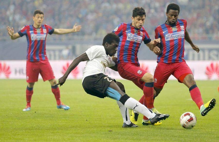 Yazalde, într-un meci Astra - FCSB