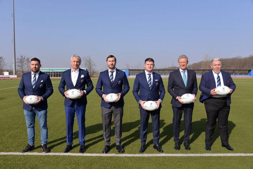 Alin Petrache a fost reales în funcția de președinte al Federației Române de Rugby / Sursă foto: Rugby România