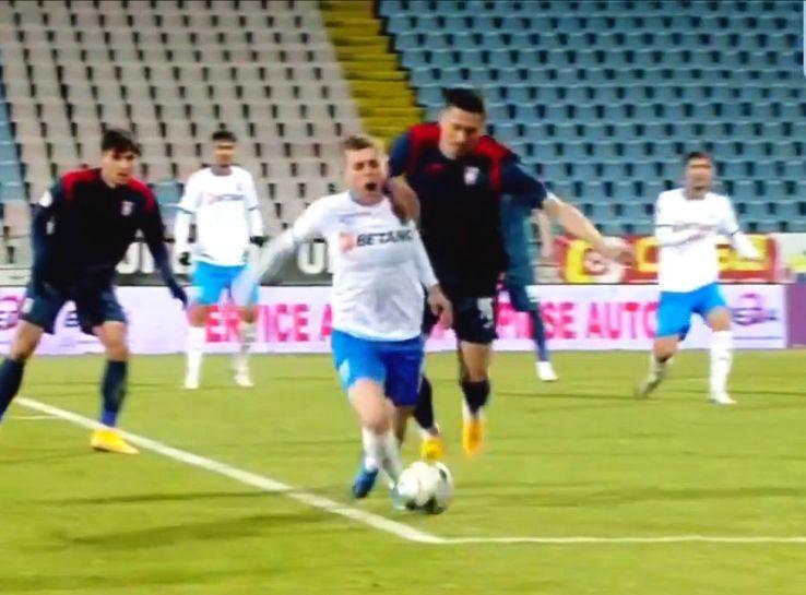 Craiova a cerut două penalty-uri Captură Digi Sport 1