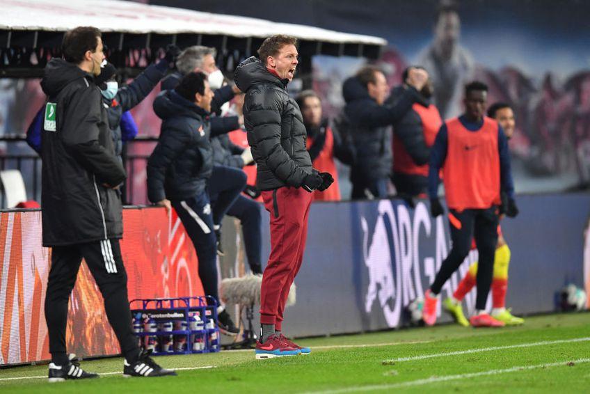 Leipzig a revenit spectaculos în repriza secundă a duelului cu Borussia Monchengladbach, s-a impus cu 3-2 și pune presiune pe liderul Bayern Munchen.