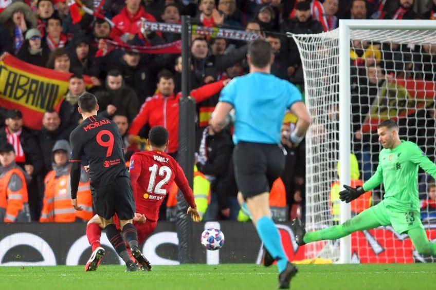 Liverpool - Atletico Madrid, încheiat 2-3, s-a jucat pe 11 martie. foto: Guliver/Getty Images