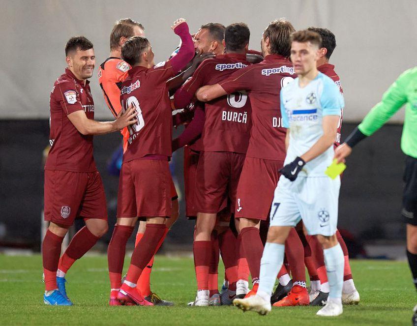 Andrei Burcă de la CFR Cluj, cel mai în vogă fundaș al momentului, crede că ar fi ajuns la FCSB, dacă nu s-ar fi ținut de școală.