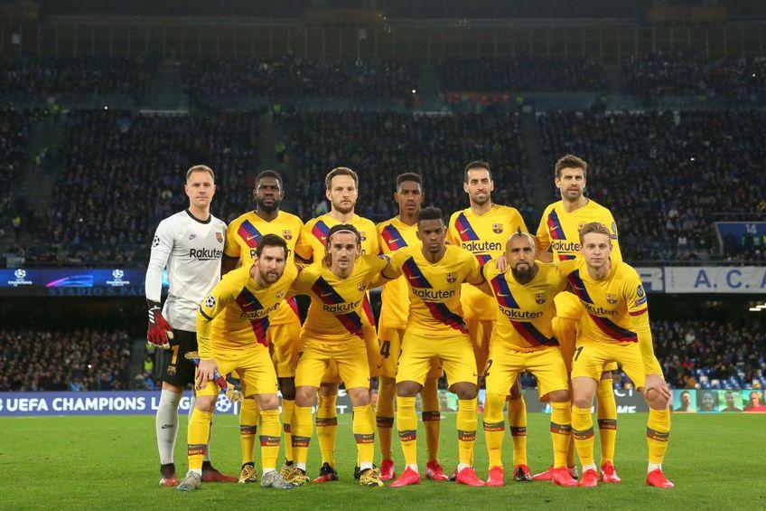 FC Barcelona în Liga Campionilor // sursă foto: Guliver/gettyimages