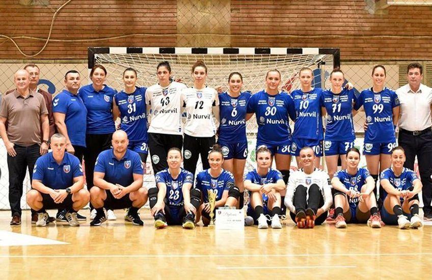 SCM Rm. Vâlcea, campioana României la handbal feminin
