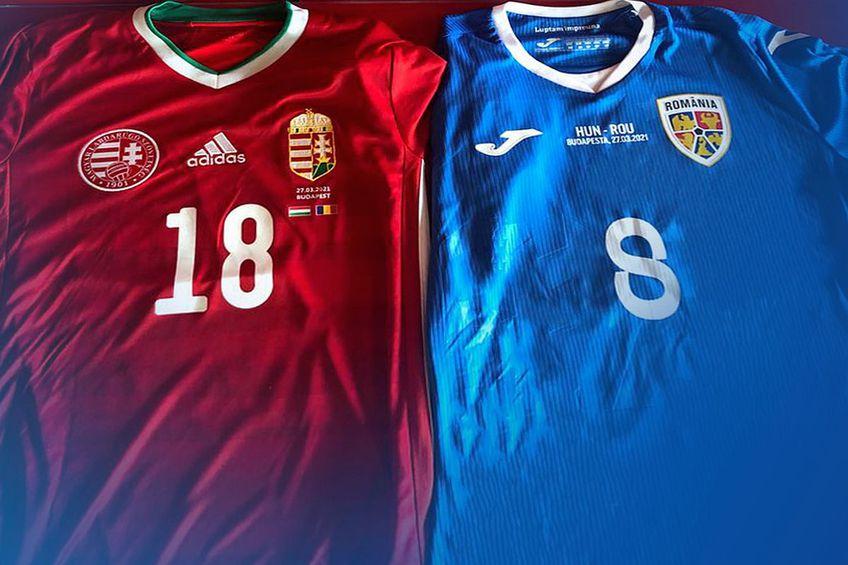 România U21 va juca cu Ungaria în albastru // foto: frf.ro