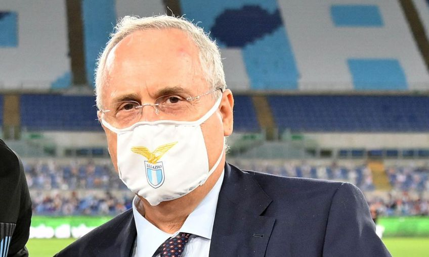 Claudio Lotito și Lazio au fost sancționați pentru încalcarea regulilor de combatere Covid-19!