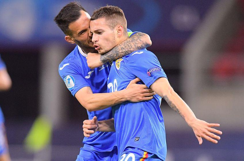 """România U21 a învins-o pe Ungaria U21, scor 2-1, în al doilea meci al """"tricolorilor"""" mici la Campionatul European!"""