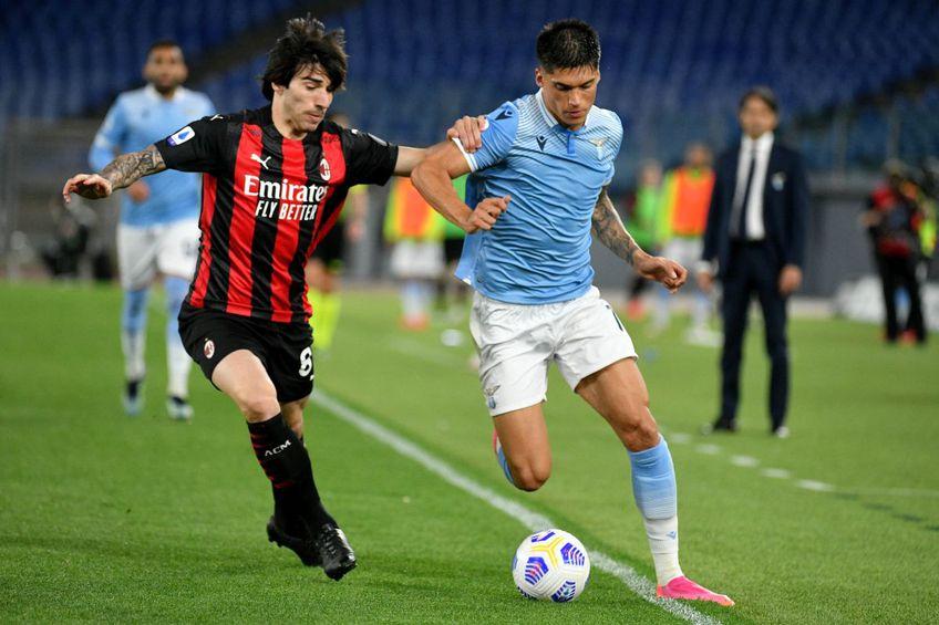 Joaquin Correa (dreapta) a marcat de două ori cu AC Milan // foto: Guliver/gettyimages