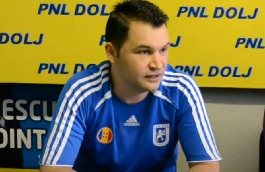 Ionuț Stroe, în 2010, în tricoul echipei lui Adrian Mititelu