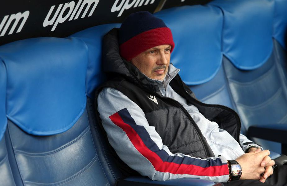 Sinisa Mihajlovic, antrenor Bologna // sursă foto: Guliver/gettyimages