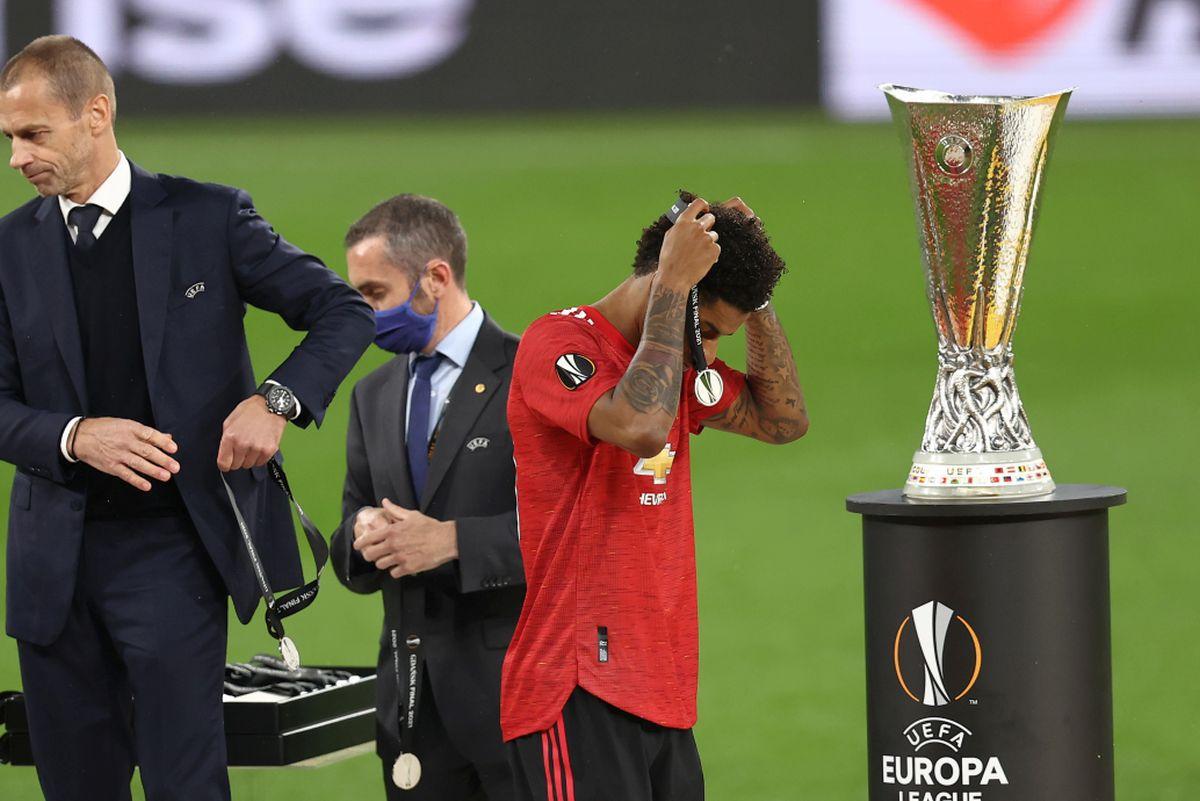 """Discursul anului în fotbal? Marcus Rashford, brutal de sincer după eșecul din finala Europa League: """"Bla-bla-bla! Asta nu înseamnă nimic pentru noi!"""""""