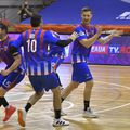 Steliștii Roșu, Vartic și Krsto Milosevici sărbătoresc calificarea în semifinale FOTO sportpictures.eu