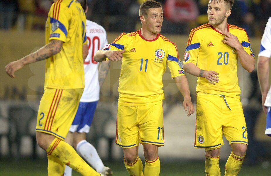 Gabriel Torje (nr. 11) își dorește să revină la echipa națională