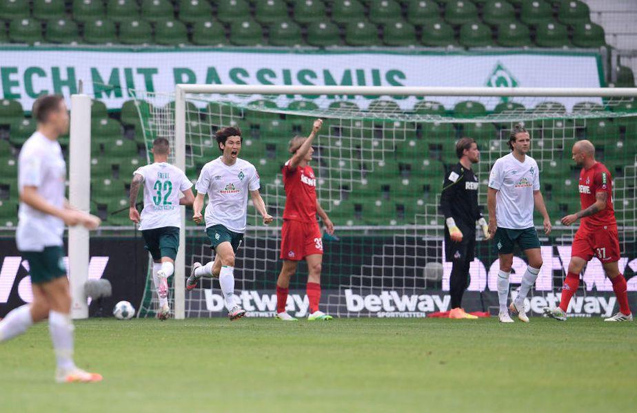 Werder Bremen a scăpat de retrogradare