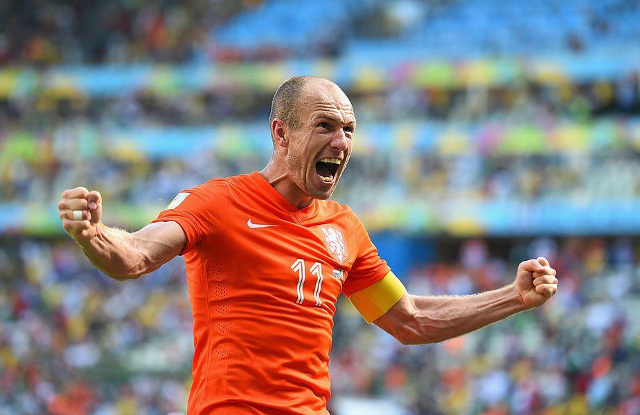 Arjen Robben revine la Groningen